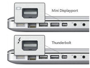 Which macs have thunderbolt ports support download - Is the thunderbolt port a mini displayport ...