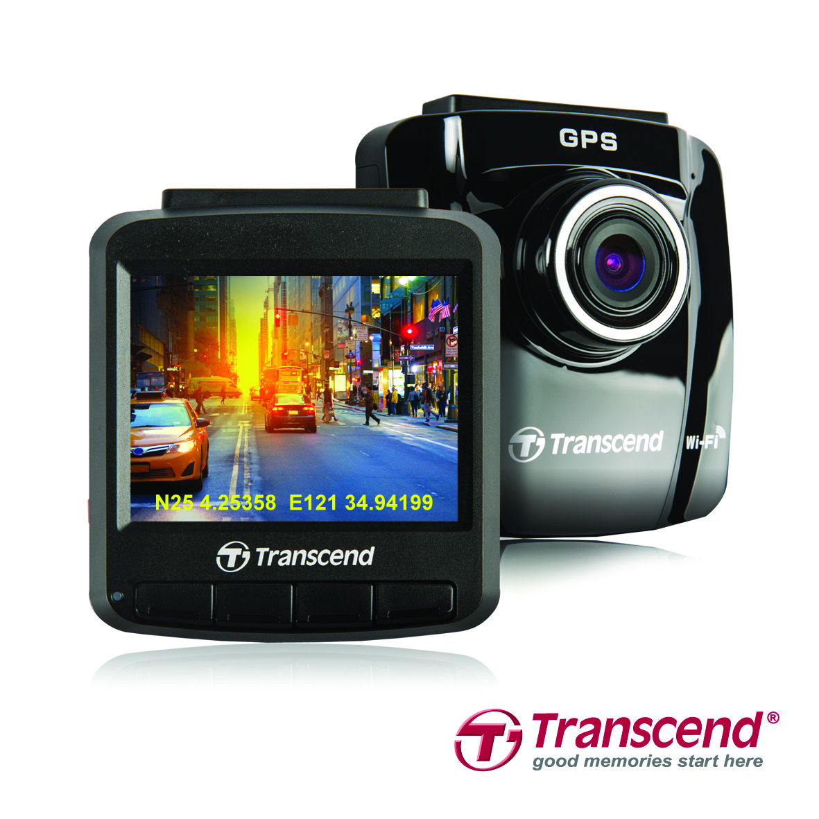 Transcend Releases DrivePro 220 Car Video Recorder with Built-in GPS
