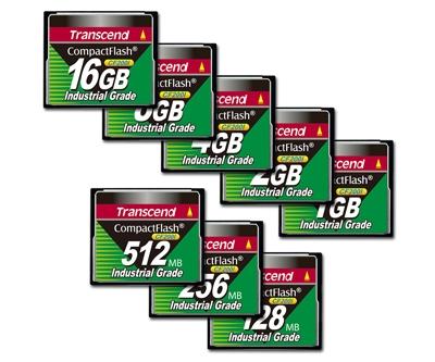 Data Storage Transcend Industrial Grade CF200I 8GB Compact Flash Memory Card