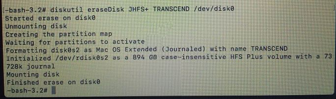 My newly installed JetDrive cannot be detected in Mac´s Disk Utility